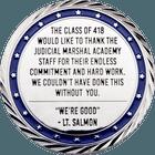 Judicial Marshal Academy Back