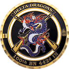 Delta Dragons Challenge Coin
