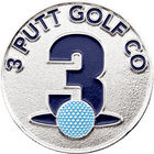 3 Putt Golf Co. Ball Marker