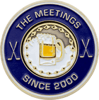 The Meetings Golf Ball Marker Coin