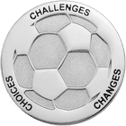 Lady Dutch Soccer Coin Side 2