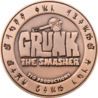 Grunk the Smasher Challenge Coin