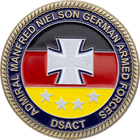 German Armed Forces NATO Coin Side 2
