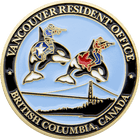 Vancouver Resident Office Challenge Coin