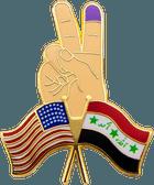 Peace Flag Pin