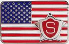 Badge Flag Pin