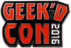 Geek'd Con Hat Pin