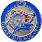 SFS Chappuis Graduation Pin