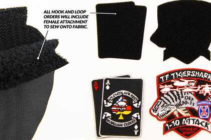Hook and Loop Patch