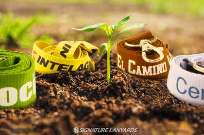 Biodegradable Lanyard