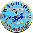 Warbird Military Pin
