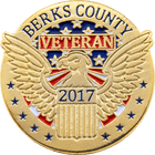 Berks County Veteran Military Pin