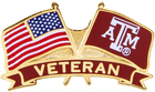 Texas A&M Flag Pin