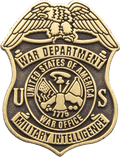 War Department Military Pin