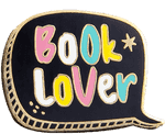 Book Lover Cloisonne Pin