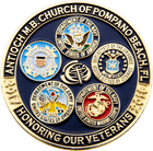 Honoring Veterans Military Pin