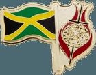 Jamaican Flag Pin