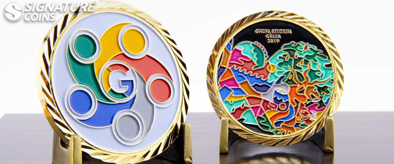SignatureCoins-Google-belgium-challengecoinss