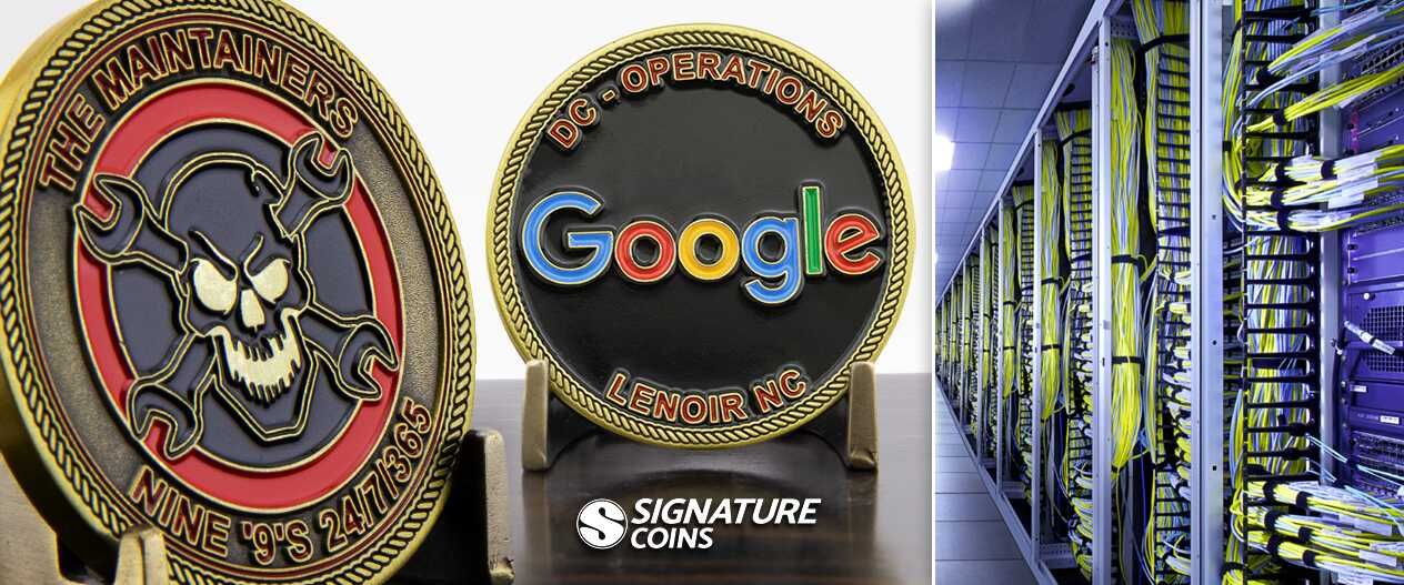 SignatureCoins-Google-database-challengecoinss