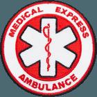 Medical-Express-Ambulance-patches