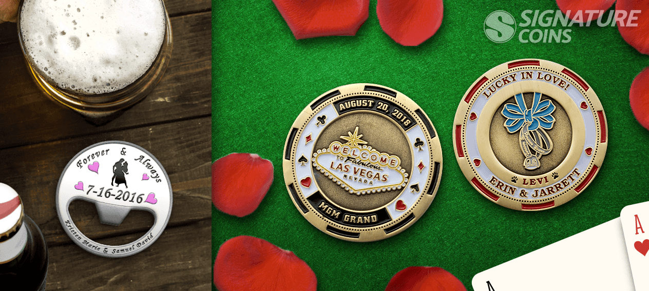 signature-coins-wedding-challenge-coins-vegas