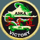 ASKA victory Black karate patch