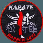 Karate Warren Levi Karate Patch
