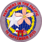 Partners in the pacific karate patch