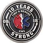 Firefighter & EMS Strong Challenge Coin