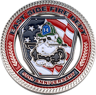Firefighter & EMS Strong Challenge Coin Side 2