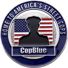 CopBlue Police Challenge Coin