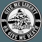 Black Metal Molon Labe Coins