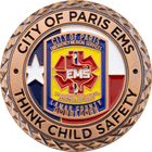 City of Paris EMS Challenge Coin