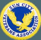Sun City Veterans Association Iron On Patch