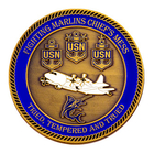 Chief's Mess Challenge Coin Side 2
