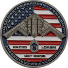 Air Force Chief Master Sergeant Coin