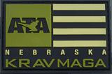 PVC patch ATA Krav Maga Nebraska