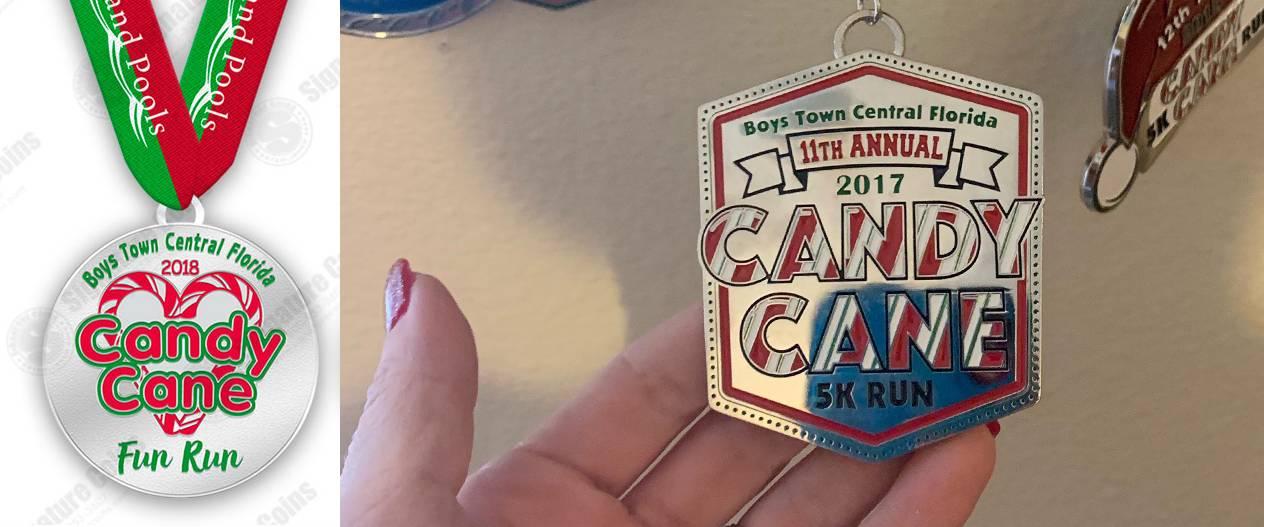 Candy-Cane-Classic-5k-run-2017-siganture-coins