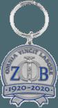 Zeta Phi Beta Keychain