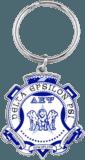 Delta Epsilon Psi Keychain