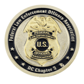 Federal Law Enforcement Officers Association Challenge Coin