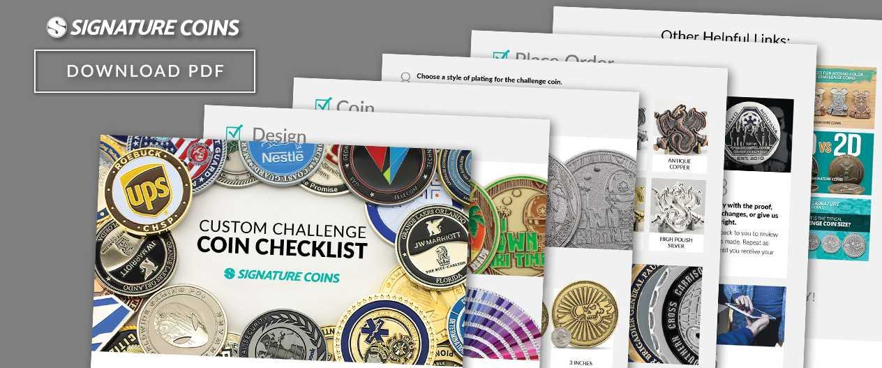 signature-coins-Checklist